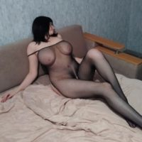 Margarita - busty hooker has a lot of fun with excess men in the room
